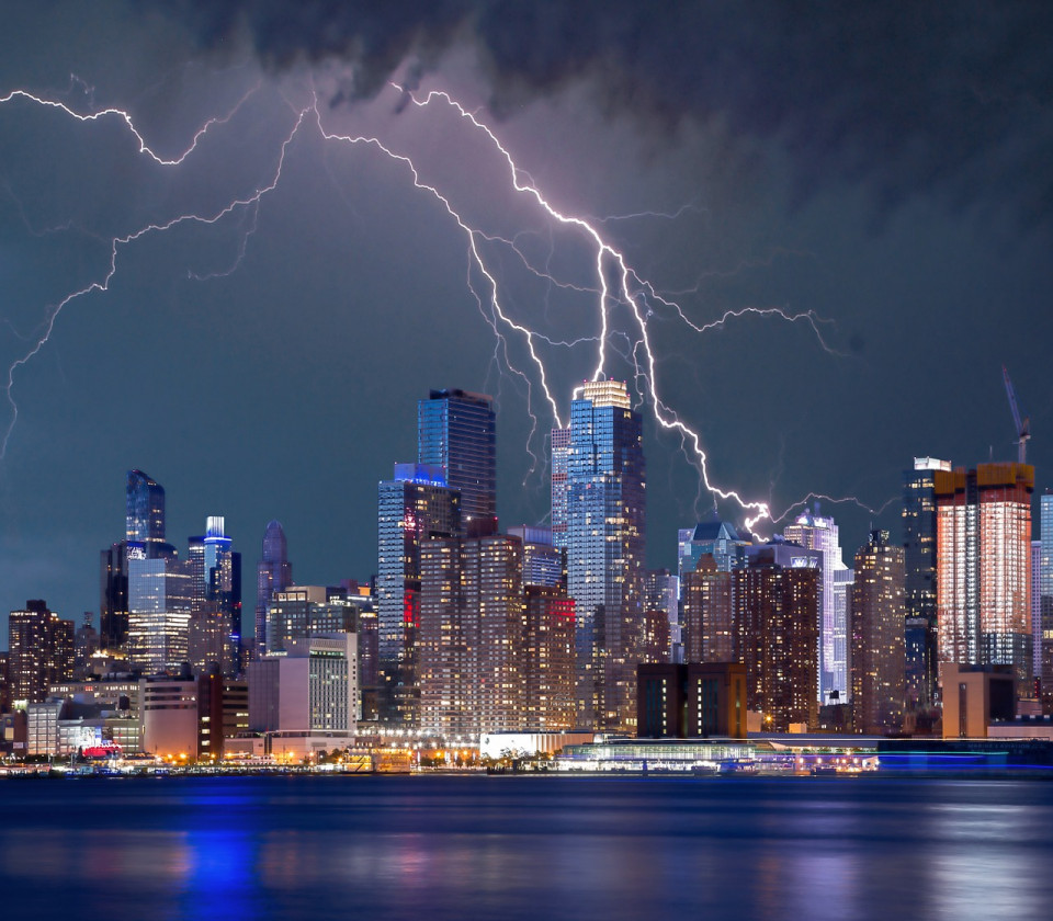 lightning NYC