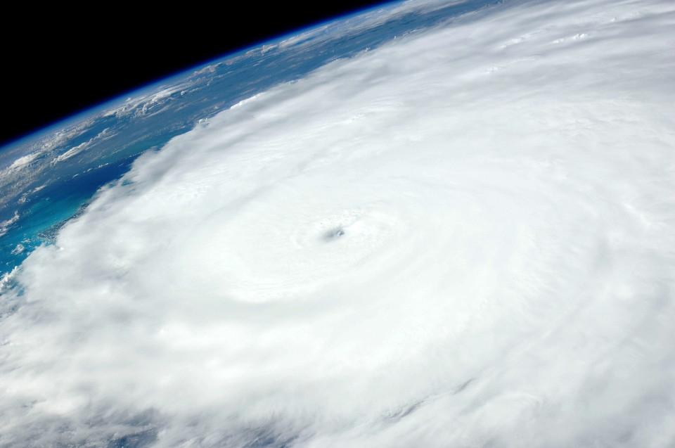 hurricane globe
