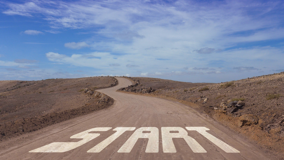 long road with START
